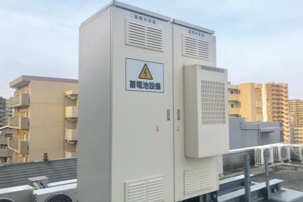ビル・工場用施設の蓄電池