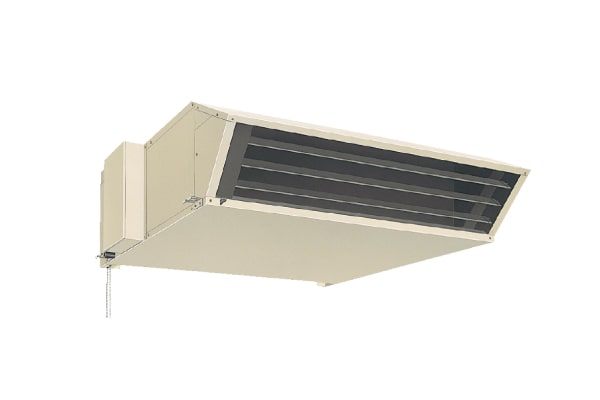工場全体空調(ゾーン空調)天井吊形
