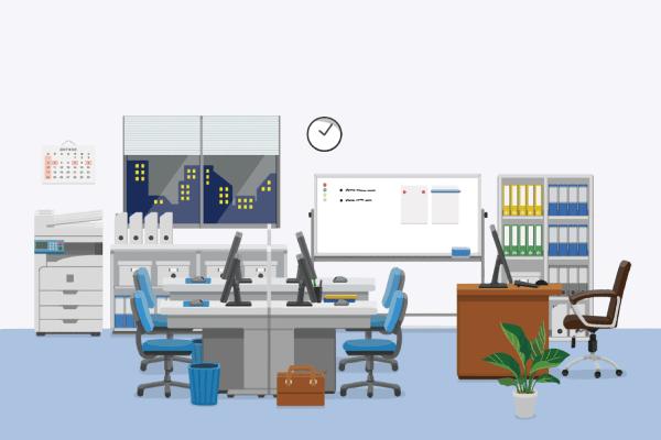 設置場所に適した業務用エアコンの形状を決める